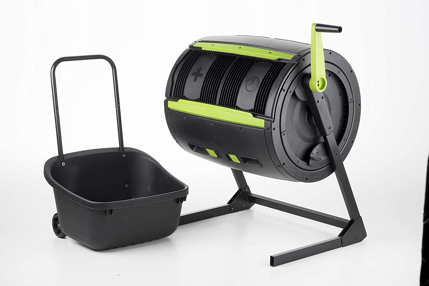 RSI MCT-MC Maze Compost Tumbler, Black