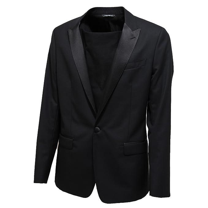 wholesale dealer 5d9af ad55a 7628L giacca uomo nera DOLCE&GABBANA D&G martini taormina ...
