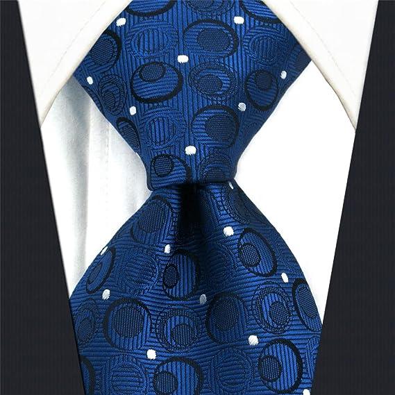 S/&W SHLAX/&WING Herren Krawatte Einsteckt/ücher Woven