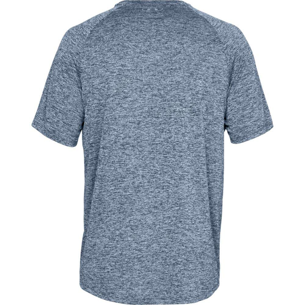 Under Armour Men's Tech 2.0 Short Sleeve T-Shirt, Academy (409)/Steel, 3X-Large by Under Armour (Image #7)