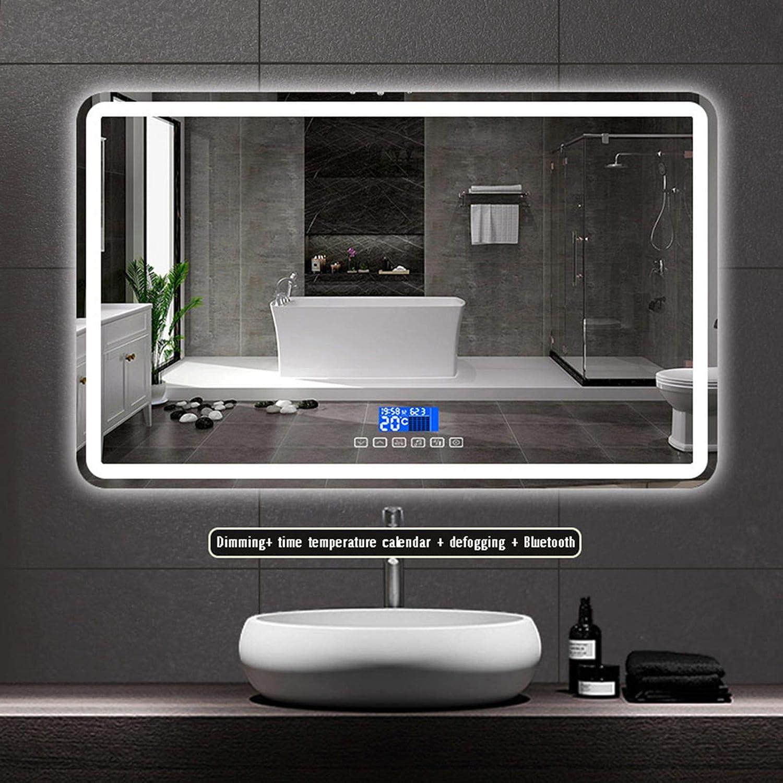 Parete Illuminazione dello Specchio,Double Touch Interruttore LANFENG Specchio Antiappannamento Funzione di Attenuazione Bagno LED