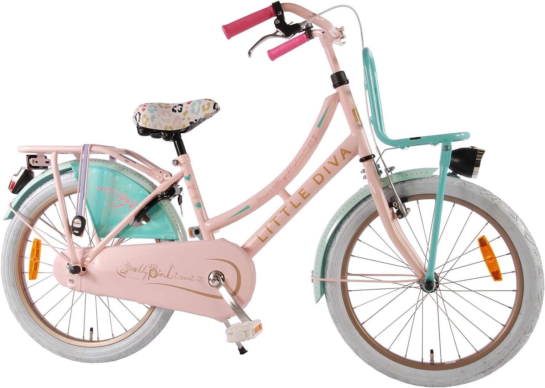 Bicicleta Chica 20 Pulgadas Little Diva Rosa Azul 95% Montado ...