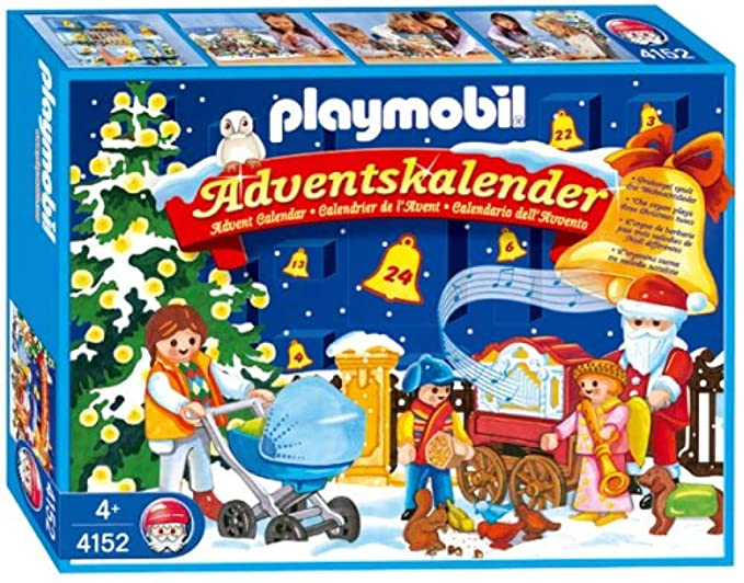 Playmobil Weihnachten.Playmobil 4152 Adventskalender Weihnachten Im Park