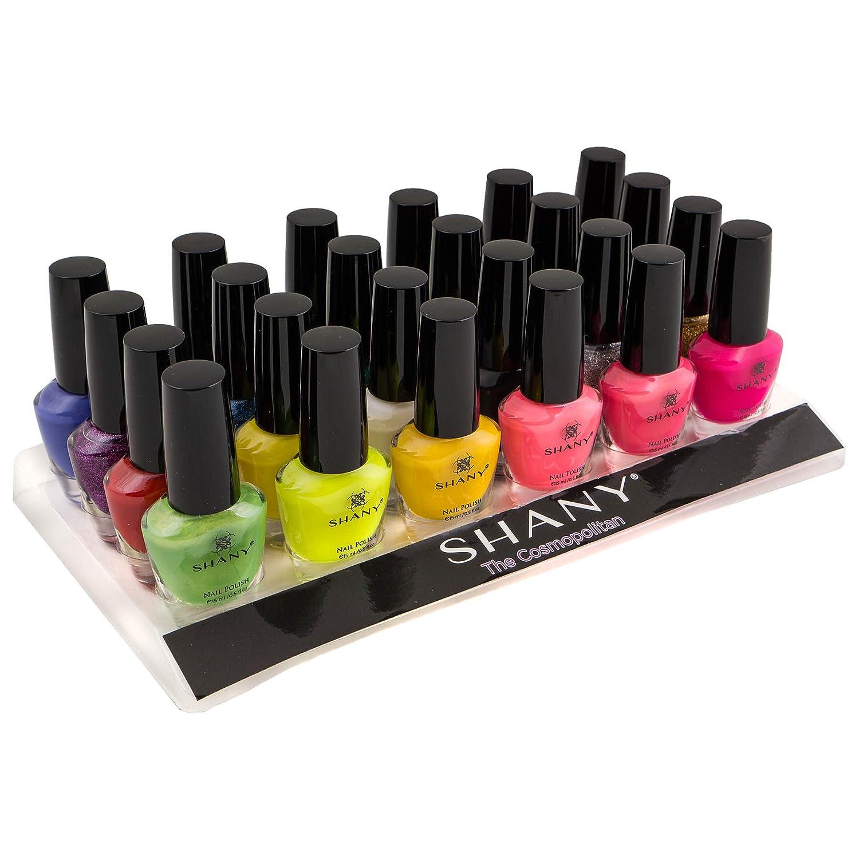 Buy SHANY Cosmetics The Cosmopolitan Nail Polish Set (24 Colors ...