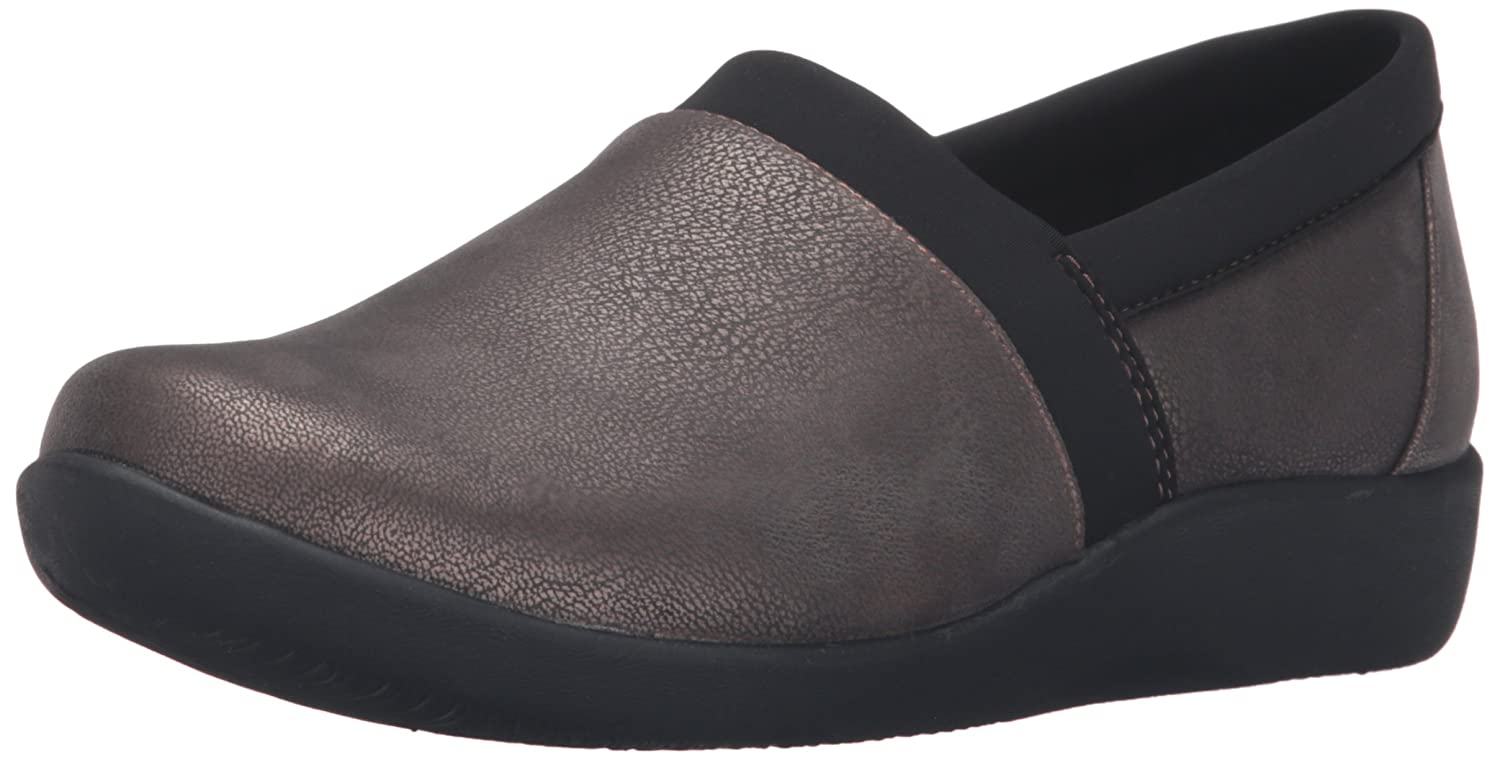 Amazon.com | Clarks Women's CloudSteppers Sillian Blair Slip-On Loafer |  Loafers & Slip-Ons