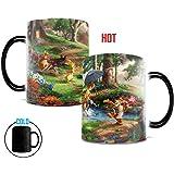 Morphing Mugs Thomas Kinkade Disney's Winnie the Pooh Painting Heat Reveal Ceramic Coffee Mug - 11 Ounces