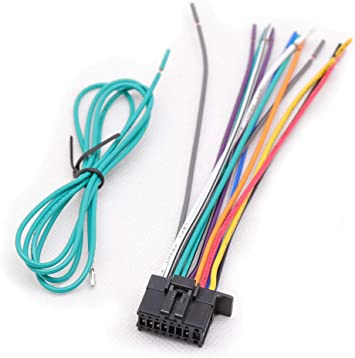 RED WOLF Stereo Audio 16-Pin Wire Harness Power Plug Cable for Pioneer 2010 /& UP Head Unit DEH 2200UB 1300MP AVH//AVIC//DEH//FH Model