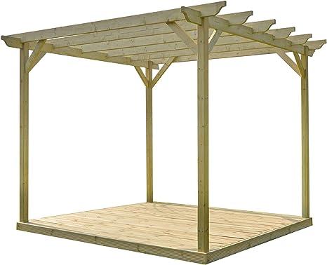 Kit de Pergola de madera y cubiertas