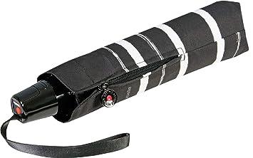 Knirps Fiber T2 Duomatic Stripe Art Black: Amazon.es: Zapatos y complementos