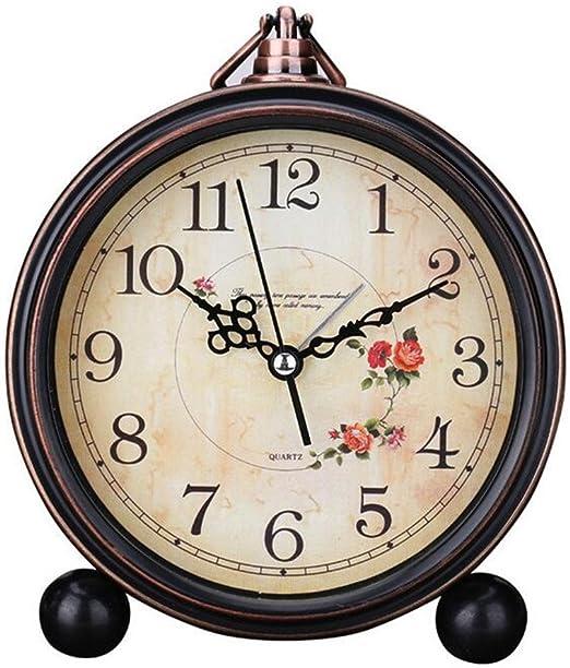 Retro Clock Battery Operated Quartz Analog Movement Wall Clock for Home