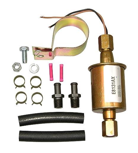 71h5vwxSmxL._SX466_ amazon com airtex e8131 universal electric fuel pump automotive