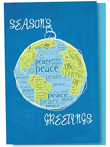 amazon com tree free greetings holiday cards and envelopes set of