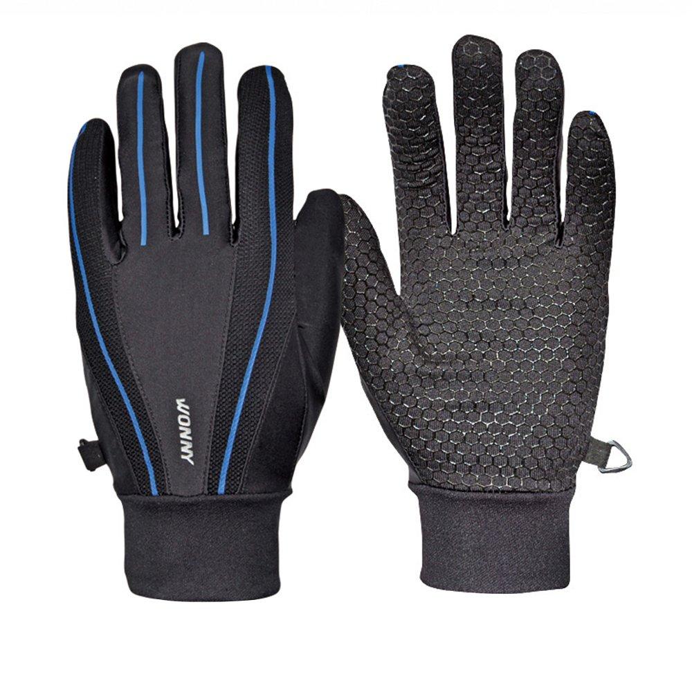 Uzexon Mountain Bike Gloves For Men Riding Gloves Red L, XL Size