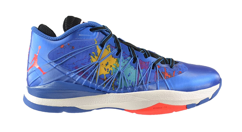 super popular ec1b3 6ab3e Amazon.com   Jordan CP3.VII 7 AE Men s Shoes Sport Blue Infrared-Black-Laser  Purple 644805-423 (12 D(M) US)   Basketball