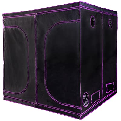 """Apollo Horticulture 77""""x77""""x77"""" Mylar Hydroponic Grow Tent"""