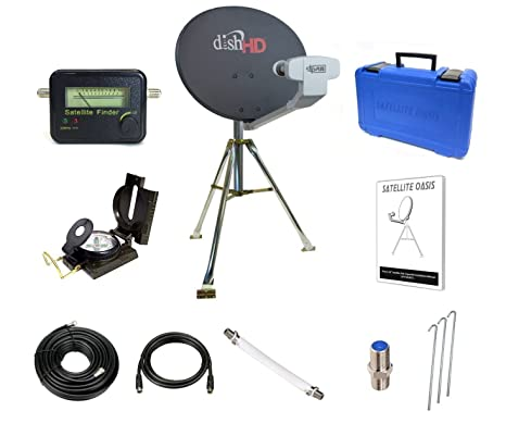Dish Red Turbo HDTV Satellite trípode Kit