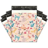 10x13 (100) Woodland Critters Designer Poly Mailers Shipping Envelopes Premium Printed Bags