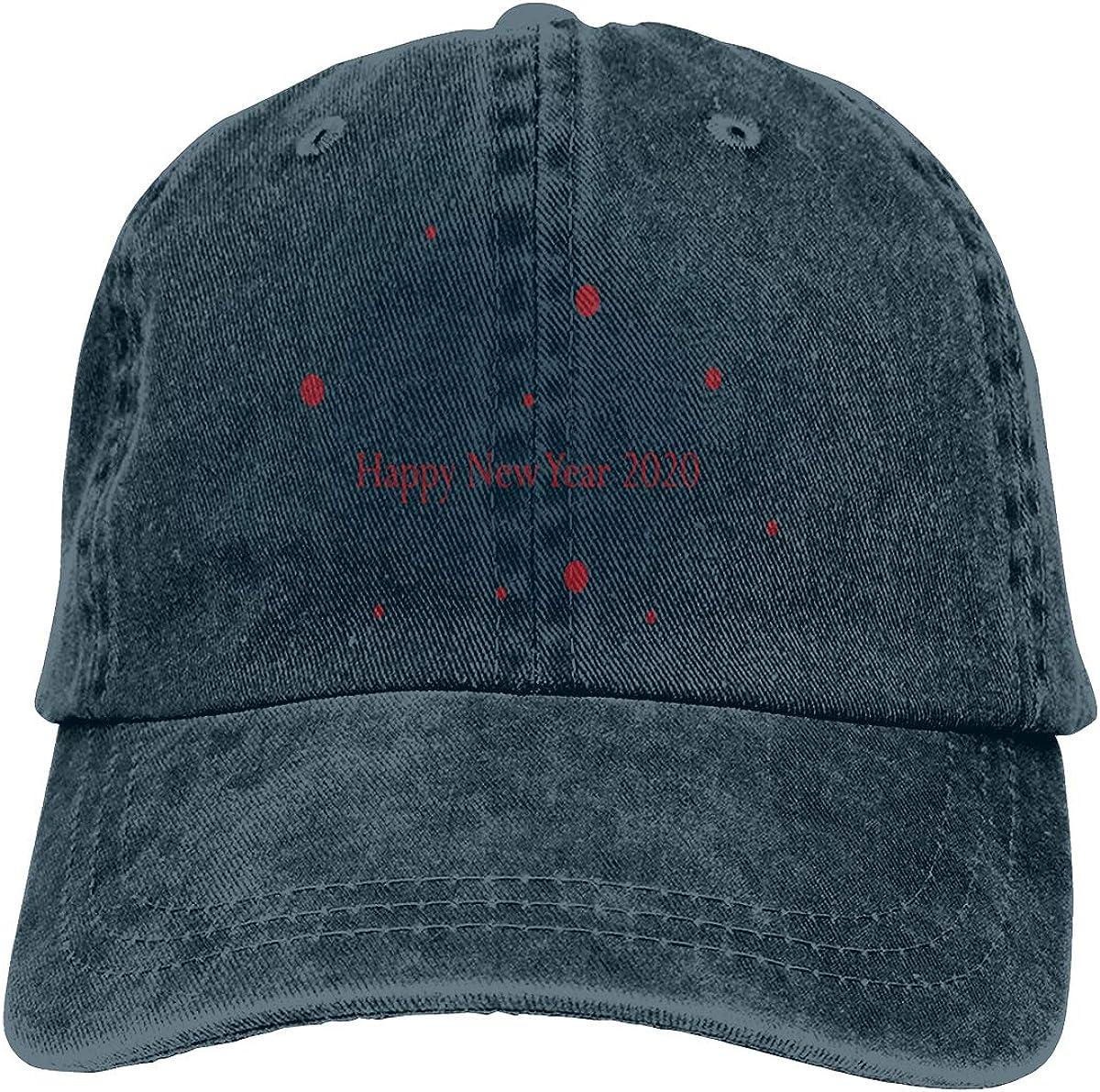 GAOFEIhat New Year Unisex Adult Denim Hats Cowboy Hat Dad Hat Driver Cap