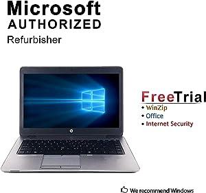 HP Elitebook 840G1 Ultrabook Laptop Computer, Intel Core i5-4200U up to 2.6GHz, 8G DDR3 RAM, 240GB SSD, VGA, DisplayPort, USB 3.0, Windows 10 Pro 64-Bit (Renewed)
