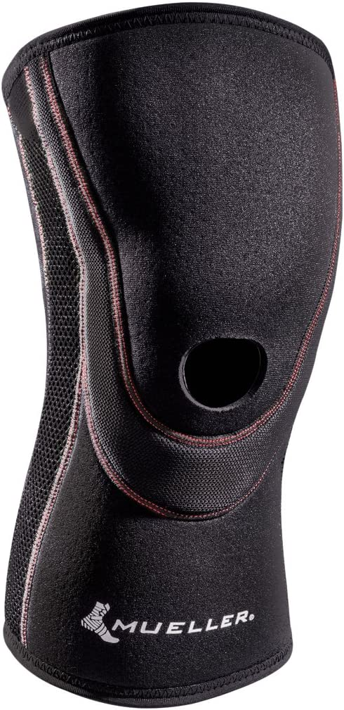 Mueller Sports Medicine Breathable Open Patella Knee Sleeve, Small, Black: Health & Personal Care