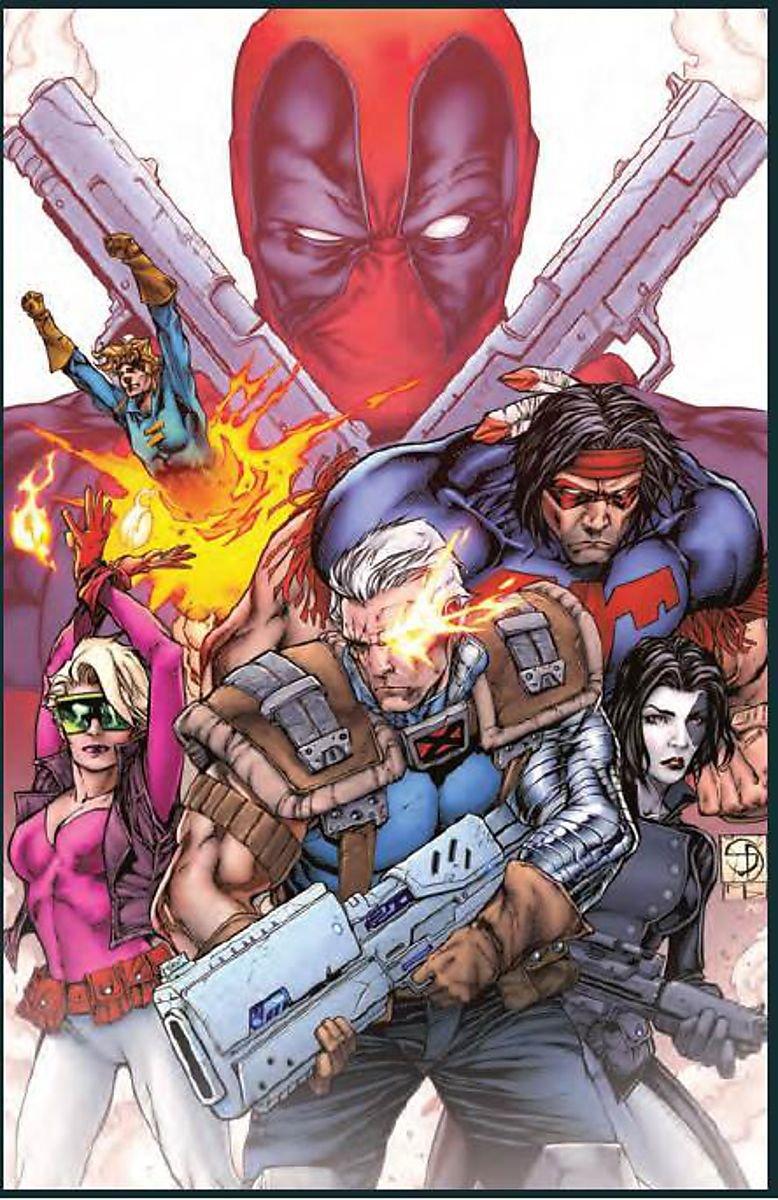 Deadpool vs X Force Duane Swierczynski