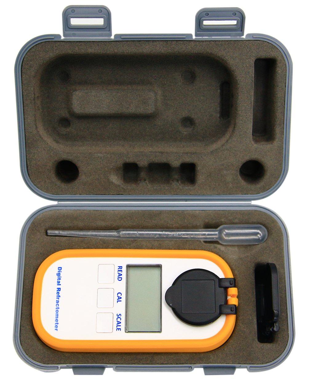 Digital Coffee Densitometer, Coffee Concentration Refractometer, Sugar Drinks Density Meter, Portable Coffee Brix TDS Meter by AMTAST (Image #5)