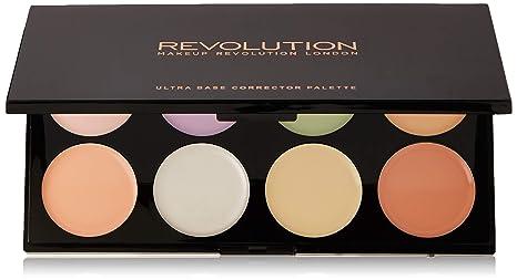Makeup Revolution Ultra Base Corrector Palette Paleta 8 korektorów do twarzy 13g