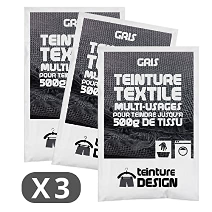 Tinte Para Teintures Bolsas Gris Textil Set De 3 Universales 8OpqxwzBtz