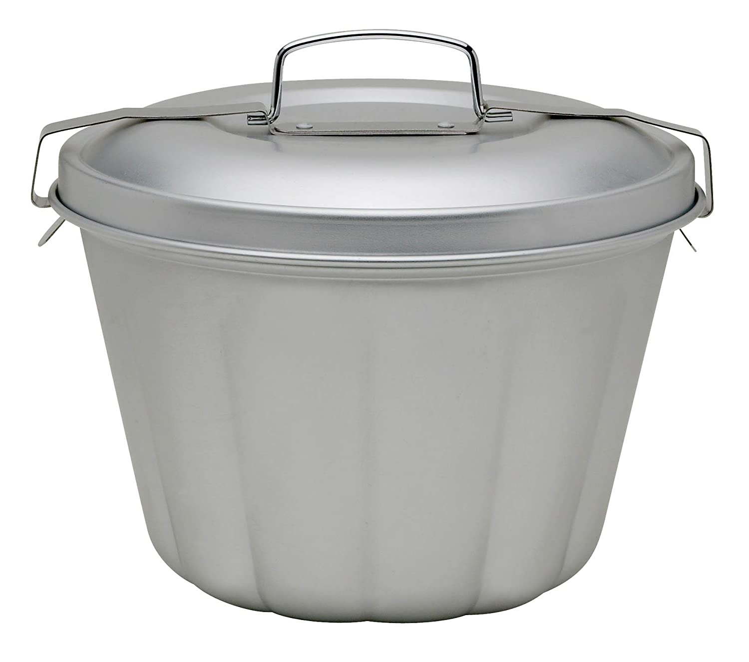 Mrs. Anderson's Baking43715 Non-Stick Steamed Pudding Mold with Lid, 1.6-Liters