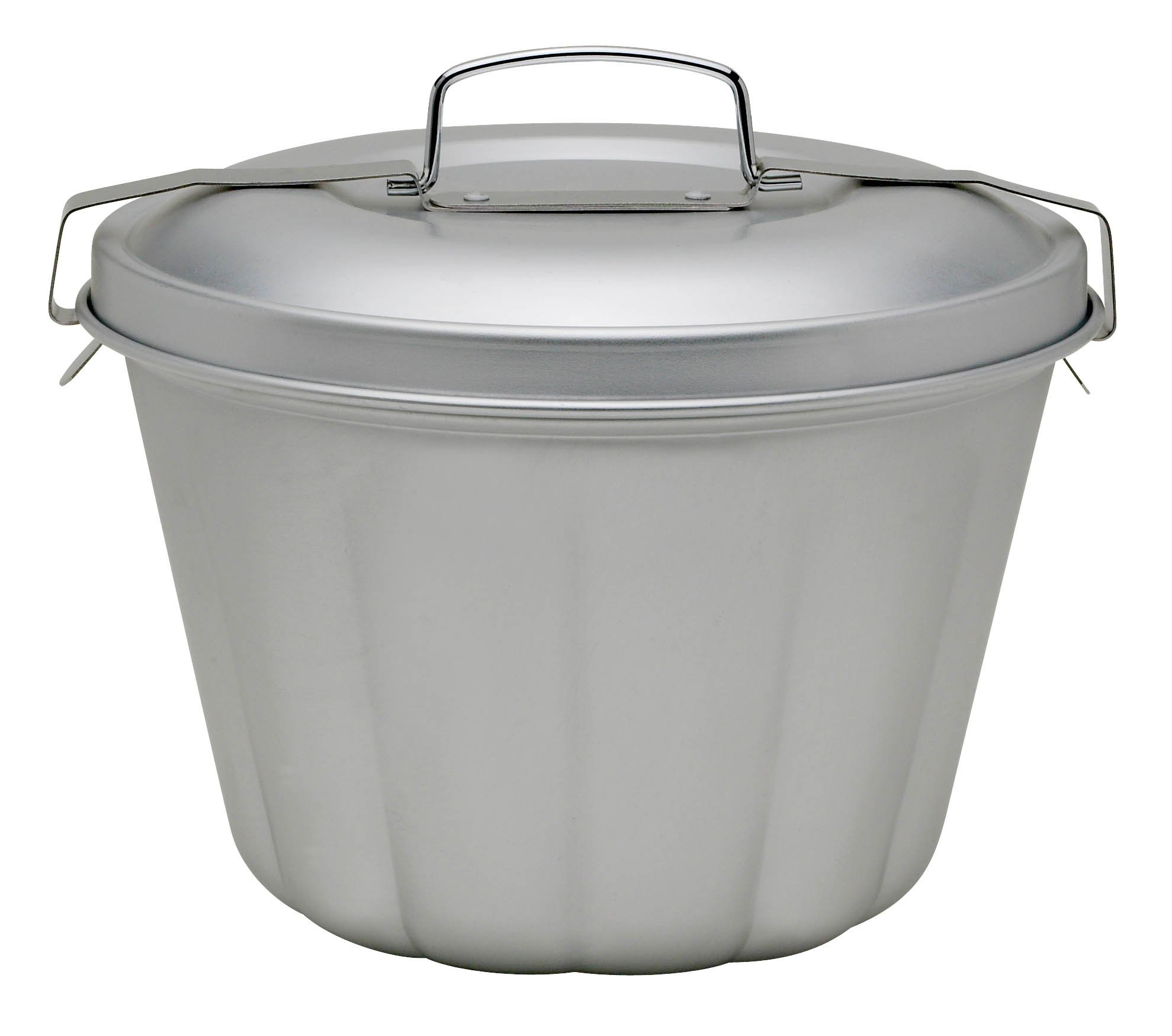 Mrs. Anderson's Baking 43715 Non-Stick Steamed Pudding Mold with Lid, 1.6-Liters