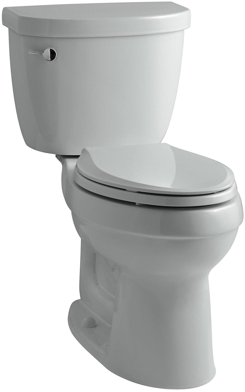 KOHLER K-3589-7 Cimarron Comfort Height Elongated 1.6 gpf Toilet ...