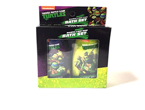 Amazon.com : Teenage Mutant Ninja Turtles Shampoo and Body ...
