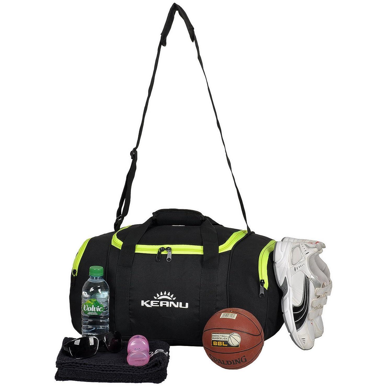 348a085699 Sac de sport KEANU pratique de 43 l - Pliable et multifonction,  compartiment pour linge, compartiment pour objets de valeur - Sacde fitness,  ...