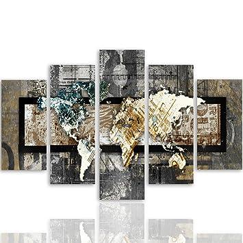 Souvent Feeby Frames, Tableau multi panneau 5 parties, Tableau imprimé xxl  YS87