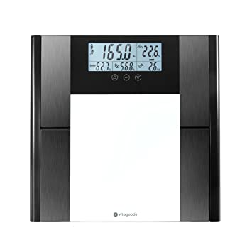 Vitagoods Form Fit: Digital Scale and Body Analyzer (Body Composition Scale)