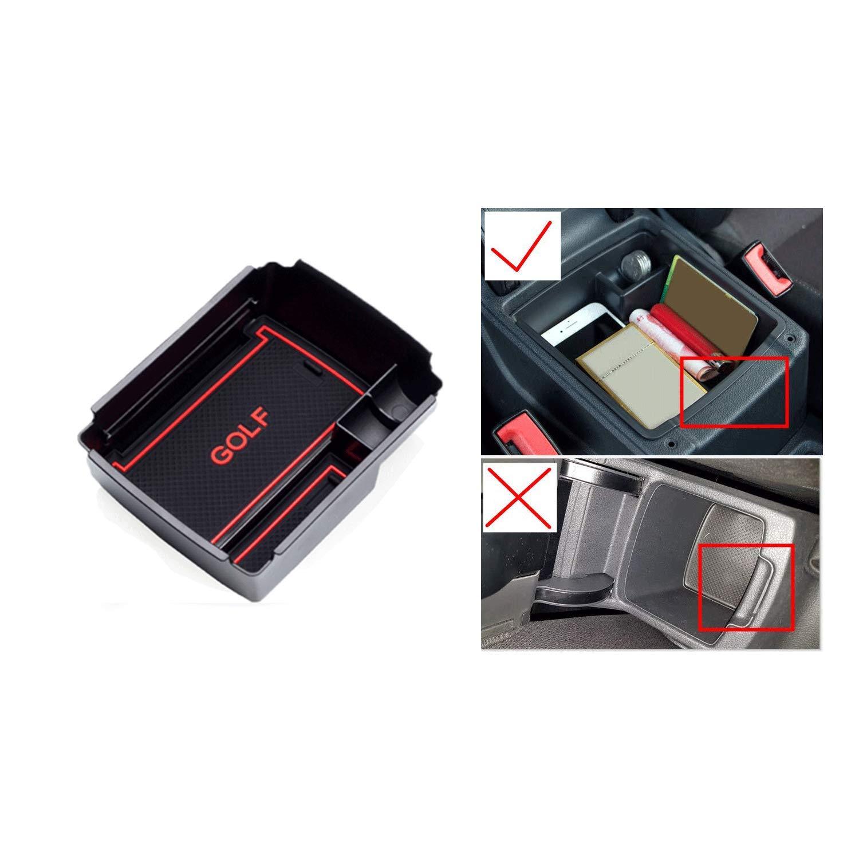 LFOTPP CHR001 Scatola del Bracciolo Nero Rosso