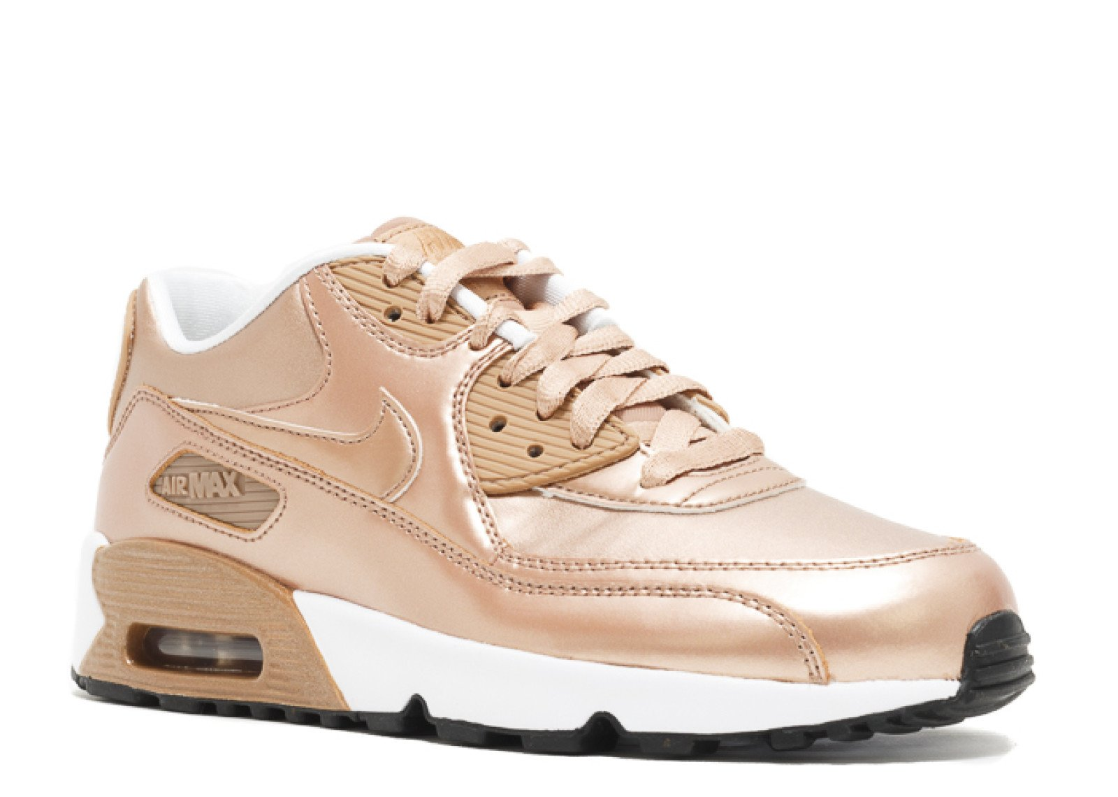 0733e0a1d102 Galleon - NIKE Air Max 90 SE Big Kids Leather Metallic Red Bronze  859633-900 (Size  5.5Y)