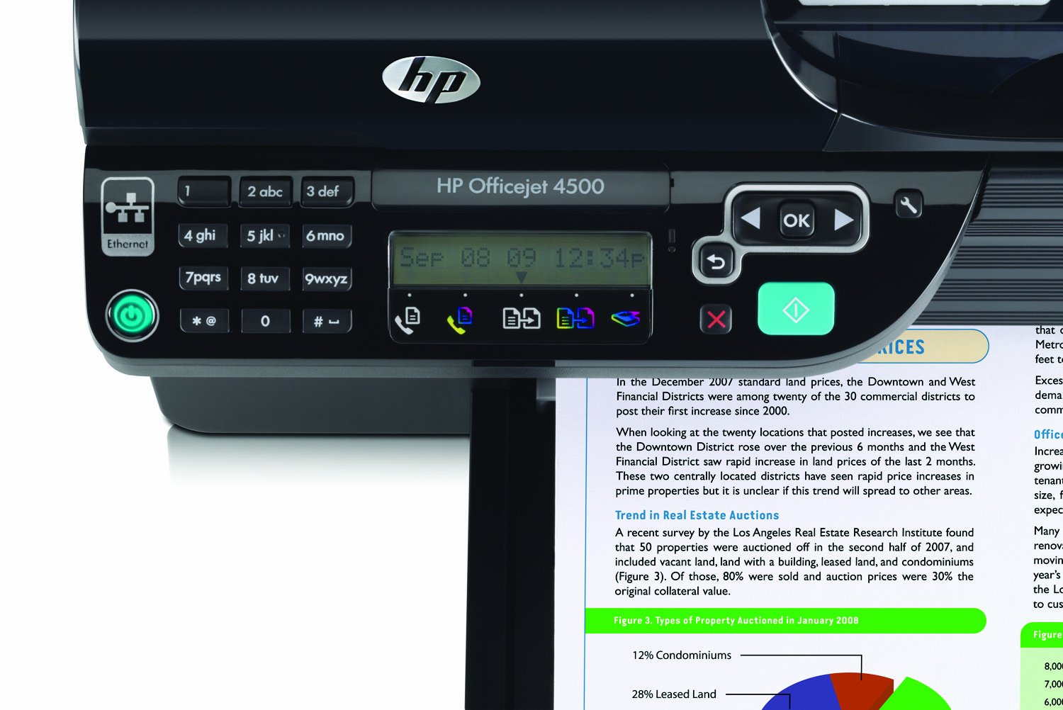 HP Officejet 4500 All In One Printer Print Copy Scan Fax Amazoncouk Computers Accessories