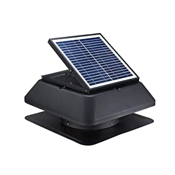 20 W solar desván Ventilador 1520 M3/H superleiser con energía solar alimentado techo de