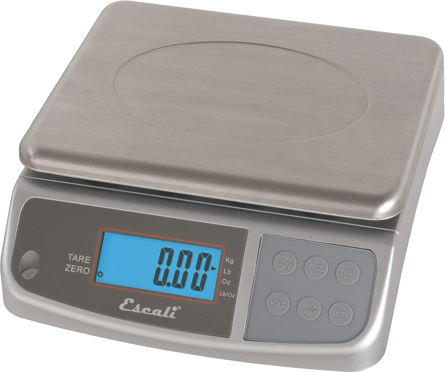 San Jamar SCDGM66 M-Series Digital Food/Kitchen Scale, 66lb Capacity