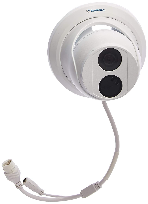 GeoVision GV-EBD2702 Automatic IR-Cut Filter Target Eyeball IP Dome, White