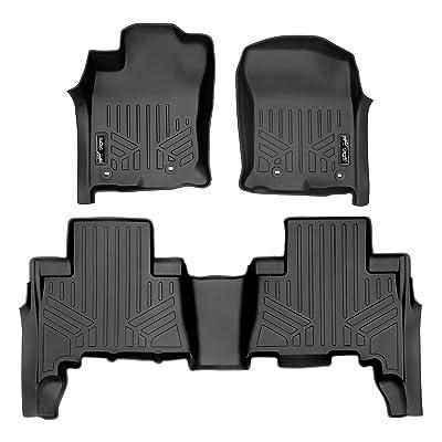 MAXLINER Custom Fit Floor Mats 2 Row Liner Set Black for 2013-2020 Toyota 4Runner / 2014-2020 Lexus GX460: Automotive