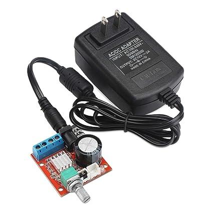 Amazon com: Digital Amplifier Board, DROK DC 7 5-15V Audio Amplify