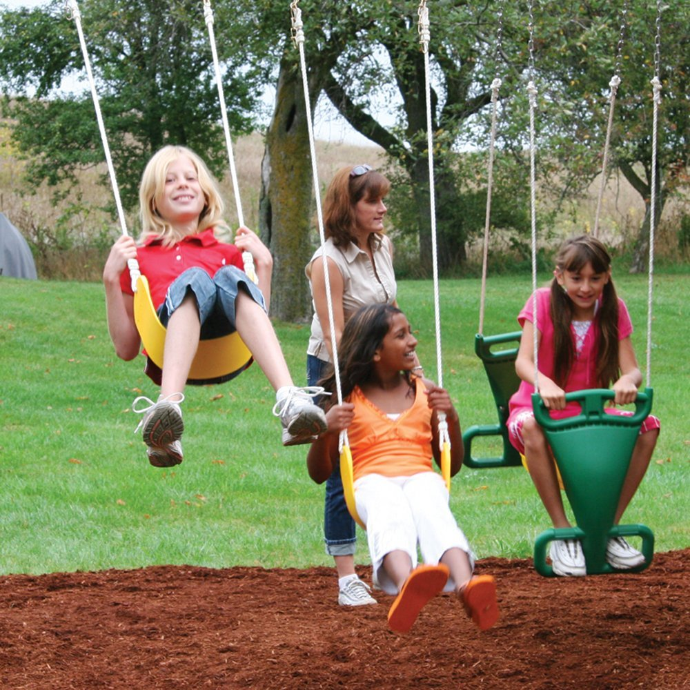 amazon com cedar summit barrington wooden play set sports u0026 outdoors