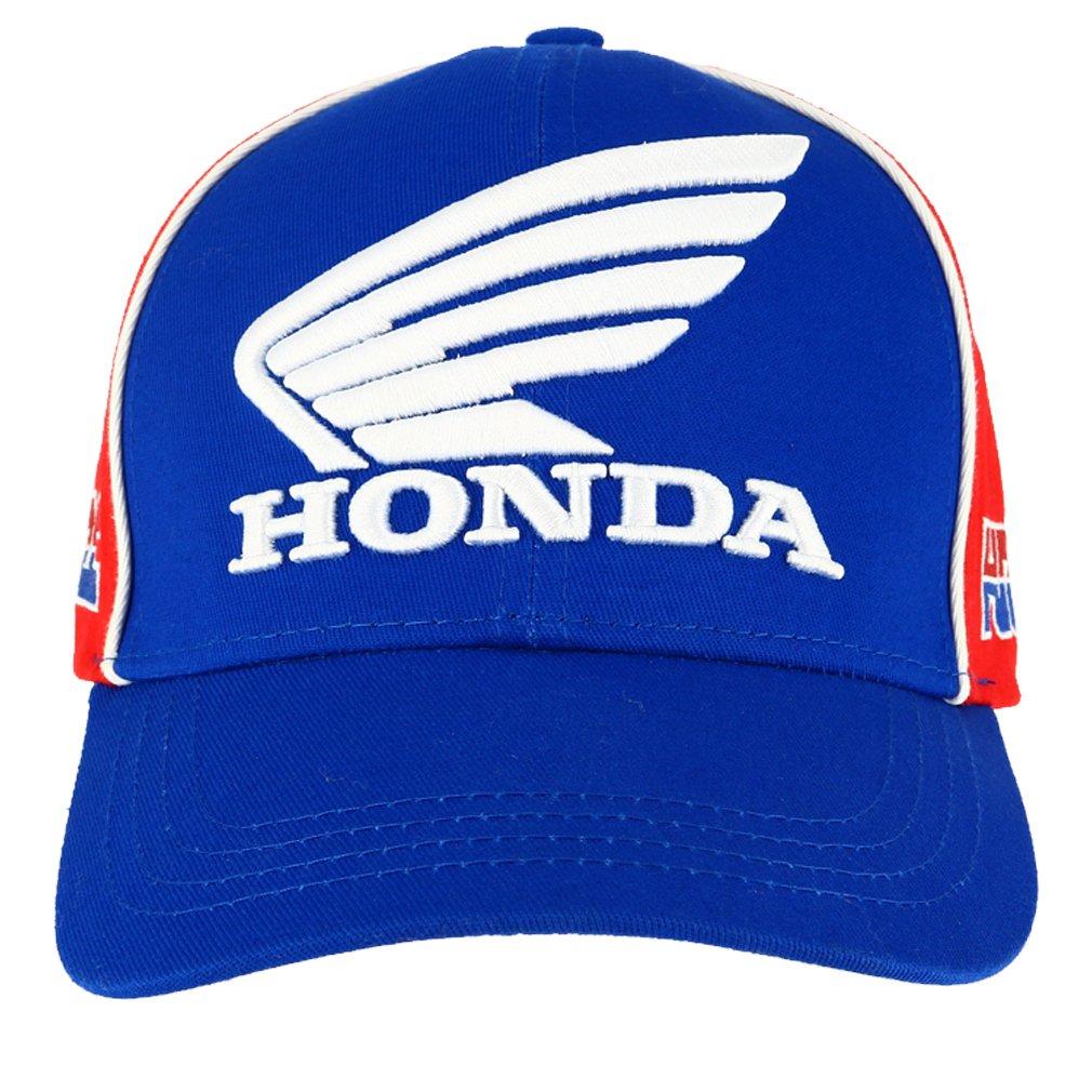 Bleu Casquette Honda HRC Racing Honda