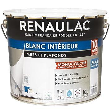Renaulac Peinture Intrieur Murs  Plafonds Monocouche Acrylique