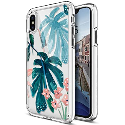 custodia iphone x fiori