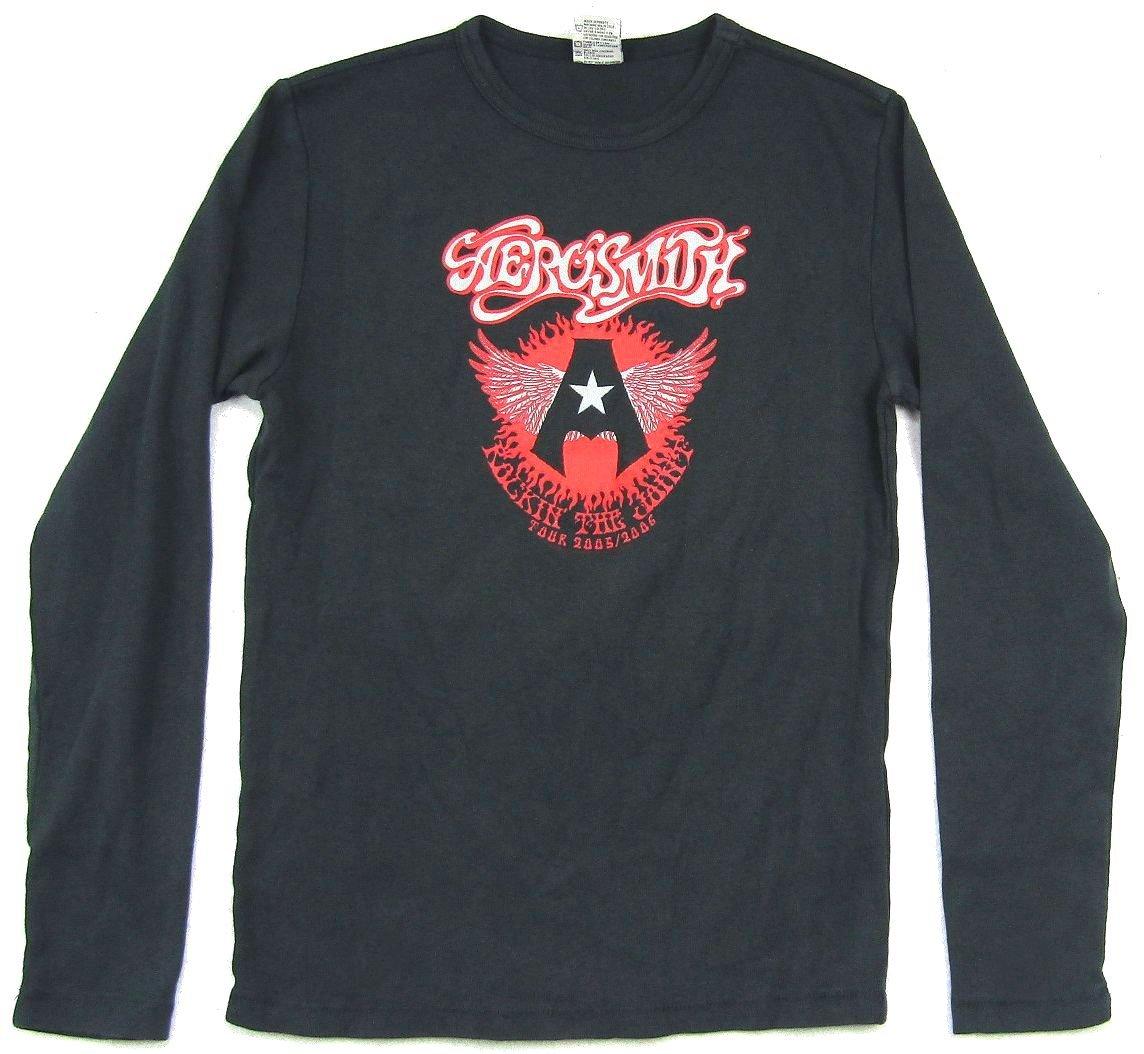 Aerosmith Rocking The Joint 2005 2006 Tour Black Shirt