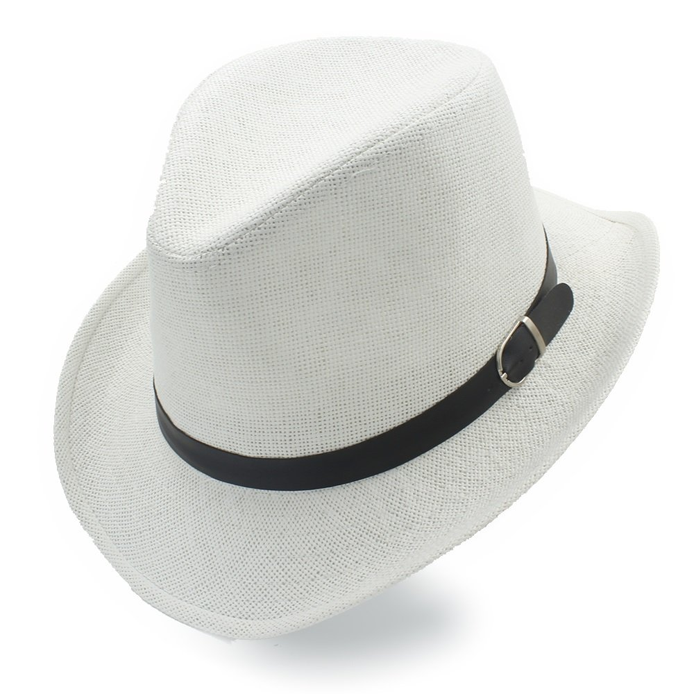 Fashion Women Men Straw Western Sombrero Cowboy Hats Summer Beach Sun Hat