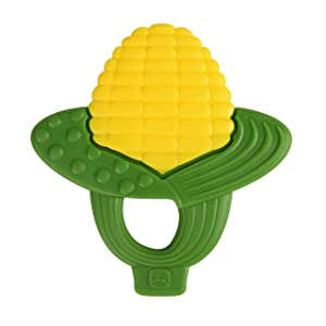 Bright Starts John Deere On The Cob Teether Easy Grasp Teether, Ages Newborn +